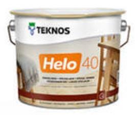TEKNOS HELO 40 полуглянцевый уретано-алкидный  лак
