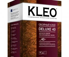 Kleo Deluxe 40 / Клей для эксклюзивных обоев / Клео Делюкс 40