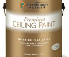 Матовая краска Pittsburgh Paints для потолков