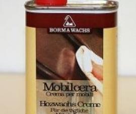 Borma / Полироль восковая Mobilcera / Борма
