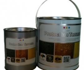 VINCENT PROTECTION TERRASSE / Масло деревозащитное антибактериальное / Винсент Протексьон Террас