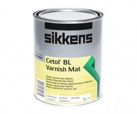 Sikkens Cetol BL Varnish Mat Износостойкий матовый полиуретановый лак для защиты древесины ПОД ЗАКАЗ
