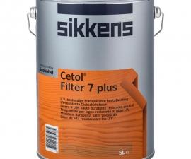 Sikkens Cetol Filter 7 Plus Полуматовая декоративная пропитка для защиты древесины ПОД ЗАКАЗ