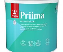 Tikkurila Priima / Однослойная интерьерная краска база C / Тиккурила Прима