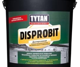 Tytan Professional Disprobit Мастика для ремонта крыш и гидроизоляции