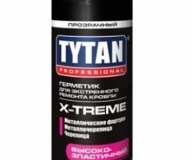 Tytan Professional X-treme Герметик для экстренного ремонта кровли
